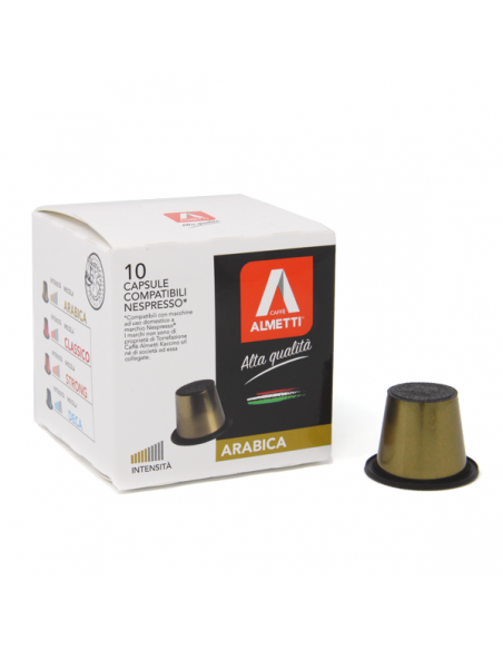 Capsule compatibili Nespresso* ARABICA - delicato