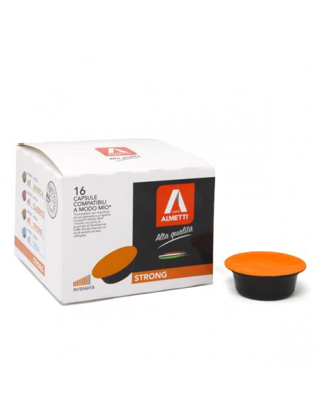 Lavazza a Modo Mio* compatible capsules STRONG