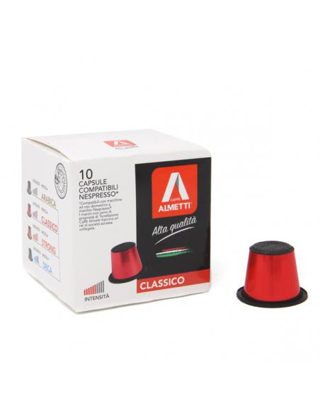 Nespresso* compatible capsules CLASSICO